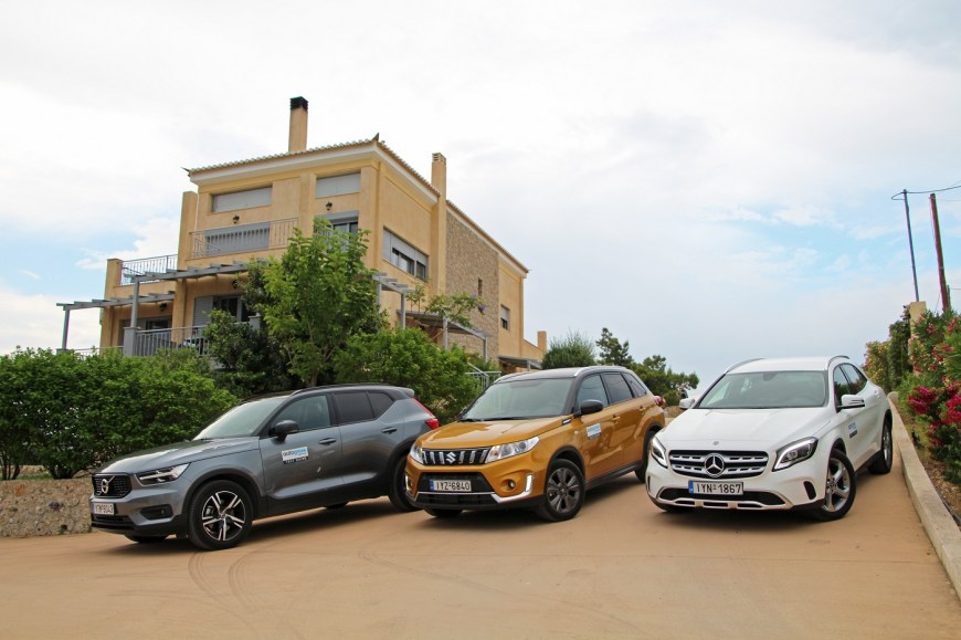 5 SUVs/Crossovers roadtrip to Ermionida